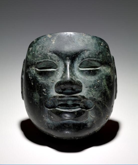 Olmec stone mask